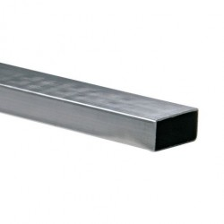 Tubo rectangular 76 x 38 x 1.5mm Cal.16 x 6m Acesco