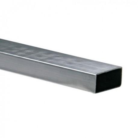 Tubo rectangular 40 x 20 x 1.1mm Cal.18 x 6m Colmena